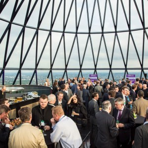 London 2013 – Searcy's Club, The Gherkin