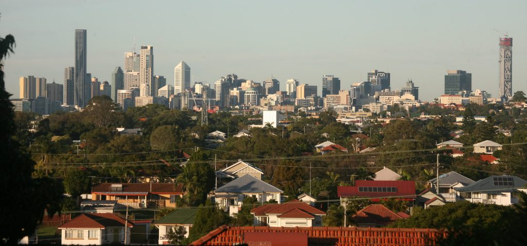 Brisbane Skyline (cc-by) Bertknot