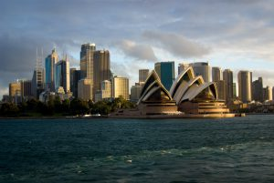 Sydney Skyline (cc-by) Corey Leopold